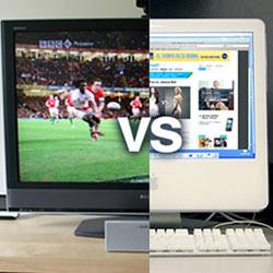 La televisión evoluciona a la par que internet