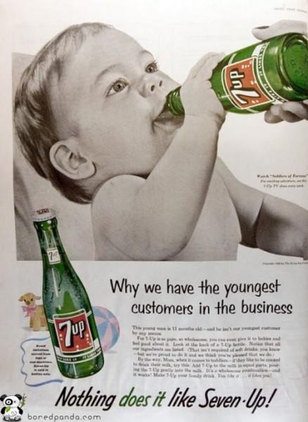 Machismo, sexismo, racismo, pedofilia: 25 anuncios antiguos que hoy estarían prohibidos