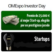 Más de 100 start ups optan ya al premio de 25.000 euros del OMExpo Investor Day