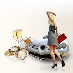 El mercado de los productos de lujo remontó la crisis en 2010