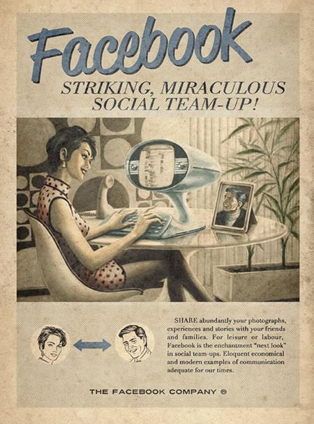 Facebook retro