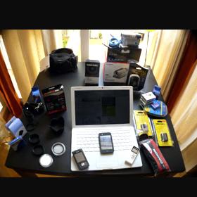 La mayoría de los compradores, locos por los gadgets