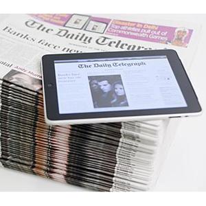 ipad daily telegraph