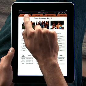 El iPad, un nuevo catálogo de productos para las tiendas online