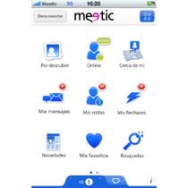 España, el primer país en el que Meetic lanzará su nueva aplicación para iPhone