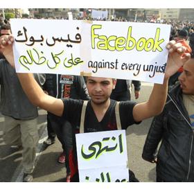 Egipto da las gracias a la existencia de las redes sociales