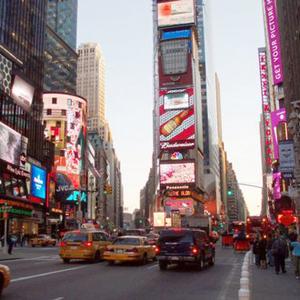 ¿Puedes imaginar Times Square sin anuncios? Ahora una aplicación te ayuda