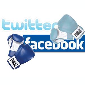 Las grandes empresas prefieren Twitter a Facebook
