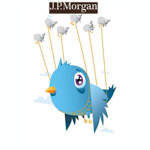 JP Morgan quiere hacerse con el 10% de Twitter