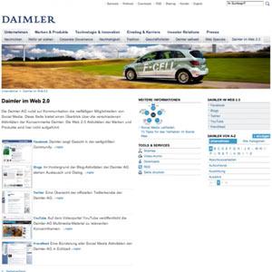 La marca Daimler en los social media