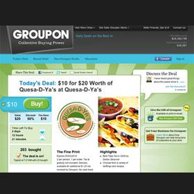 ¿Tiene Groupon los días contados?