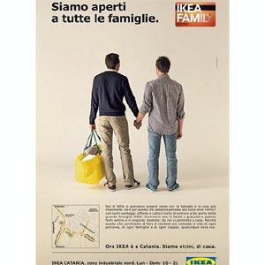 Una campaña de Ikea protagonizada por una pareja gay levanta ampollas en Italia