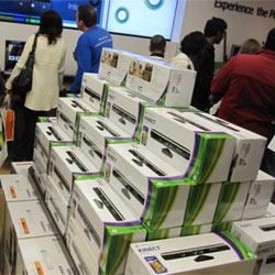 Kinect se vende más rápido que el iPad y el iPhone