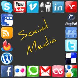 Las empresas de medios y de moda son las más afines a los social media