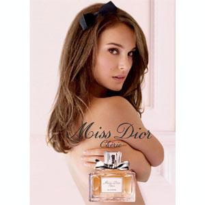Natalie Portman seduce en la nueva campaña publicitaria de Dior