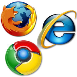Explorer, Firefox o Chrome: ¿cuál logrará imponerse en el mercado de los navegadores?