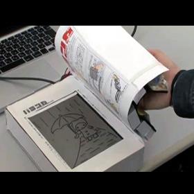 Nuevo eReader aún más parecido a un libro de papel