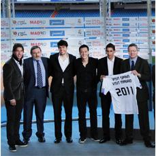 El Real Madrid promocionará las marcas turísticas de España y Madrid