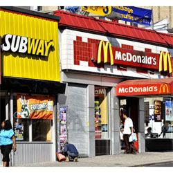 Subway apea a McDonald's del trono de las cadenas de comida rápida