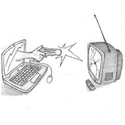 Los espectadores prefieren el ordenador al televisor para ver contenido bajo demanda