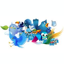 Twitter presume de cifras en su quinto aniversario