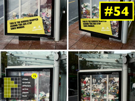 100 campañas de marketing de guerrilla que te sorprenderán