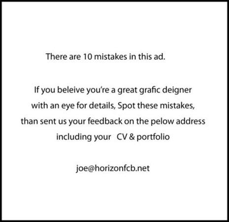 10 anuncios de trabajo increíbles pero ciertos | Marketing