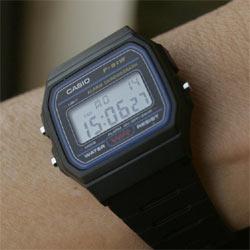 Los relojes Casio,