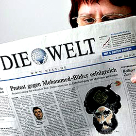 Todos los medios alemanes muestran un alza, excepto los diarios