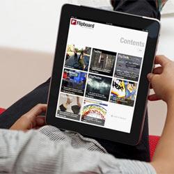 La aplicación para el iPad Flipboard vale ya 200 millones de dólares