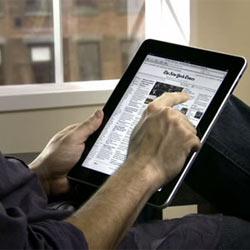 El iPad aviva el consumo de medios