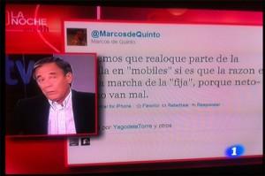 Marcos de Quinto y los tweets de la polémica