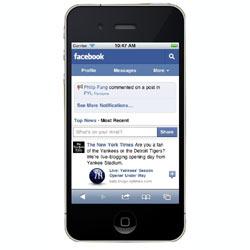 Facebook unifica sus portales para móviles