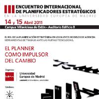 El III Encuentro de Planificadores Estratégicos en tweets