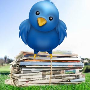 Los grandes diarios marcan la agenda informativa en Twitter
