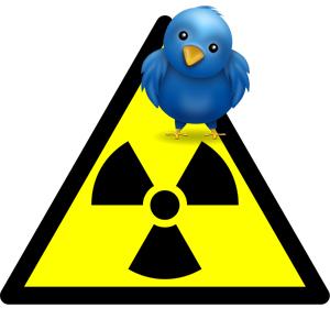 ¿Qué efecto tuvo la nube radiactiva en las redes sociales?