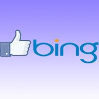 Bing integra el botón
