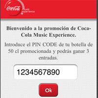 Coca-Cola lanza una promoción con códigos bidi en máquinas vending