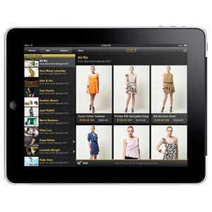 Los escaparates de las tiendas, ahora en el iPad