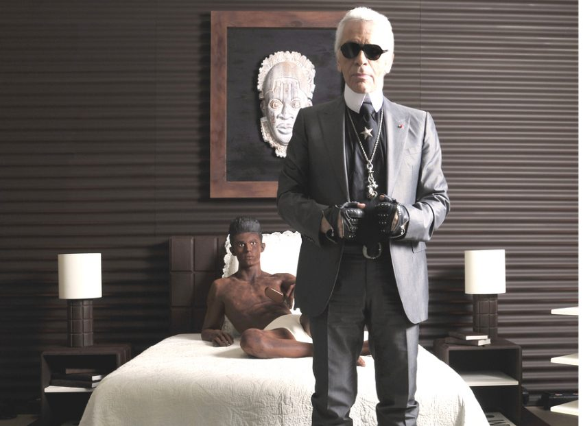Magnum decora toda una suite a base de chocolate junto a Karl Lagerfeld