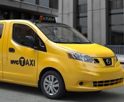 Los nuevos taxis de Nueva York serán... Nissan