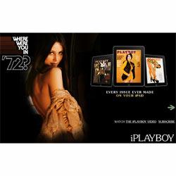 Las conejitas de Playboy esquivan la censura en el iPad