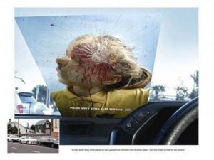 20 escalofriantes anuncios de seguridad vial