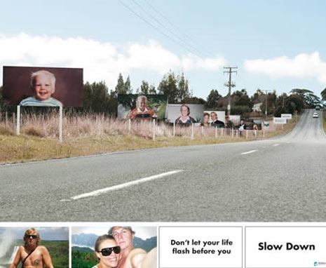 20 escalofriantes anuncios de seguridad vial (Fotos Videos)