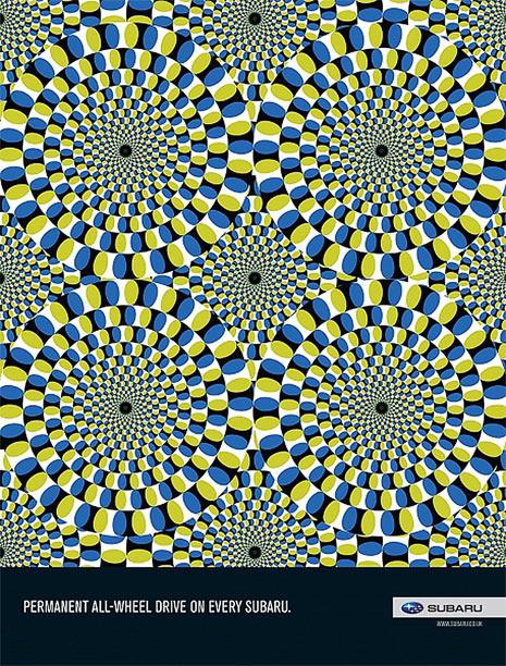 11 ejemplos de publicidad con ilusiones ópticas ...