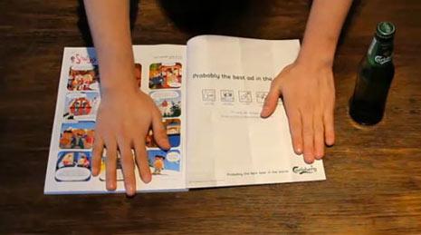 10 anuncios impresos que cobran vida m225s all225 del papel