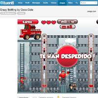 Coca-Cola estrena el servicio de juegos integrados de Tuenti para celebrar su 125 aniversario