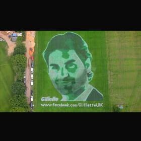 Gillette roba la atención de todos en Wimbledon con su original campaña publicitaria