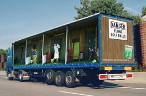 40 anuncios de alto tonelaje: la publicidad asalta los camiones