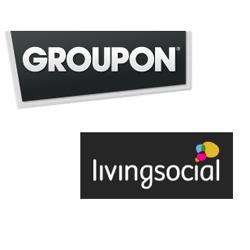 Groupon y LivingSocial se baten por el mercado de las ofertas en tiempo real